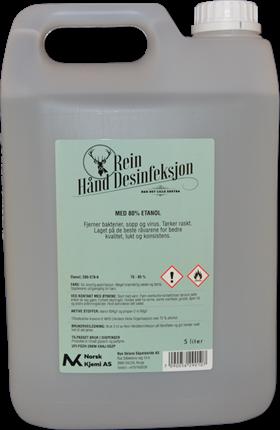 Rein Desinfeksjon Tynn m/parfyme 5 Liter